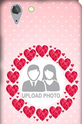 Lenovo Vibe K5 Plus Pink Hearts Valentine's Day Mobile Cover