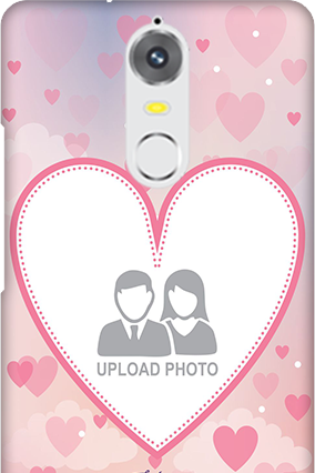 Lenovo K5 Love & Heart Anniversary Mobile Cover