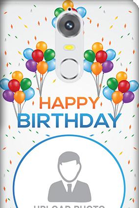 Lenovo K5 Happy Birthday Mobile Cover