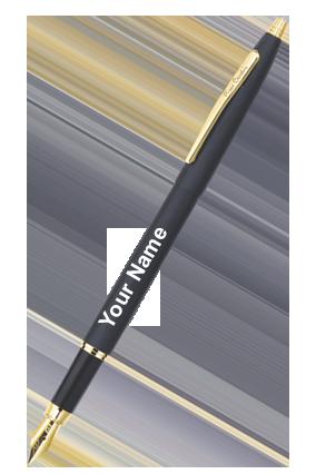Pierre Cardin Kriss Japan Black Ball Pen