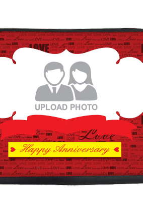Anniversary Wishes Laptop Sleeve