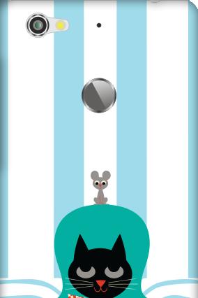 Silicon - Letv Le 1S Cat Mobile Cover