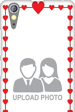 Personalized Lenovo A6000 Heart Valentine's Day Mobile Cover