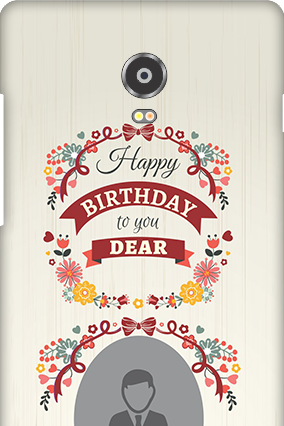 Lenovo Vibe P1 Happy Birthday Dear Mobile Cover
