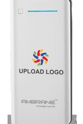 Upload Logo 20800mAh Ambrane Power Bank White