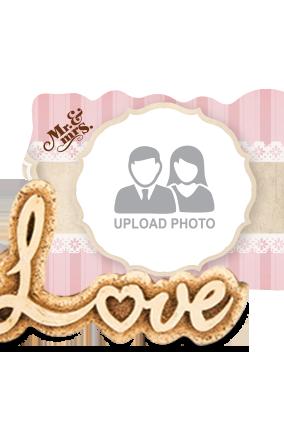 Amazing Wedding Love Photo Frame