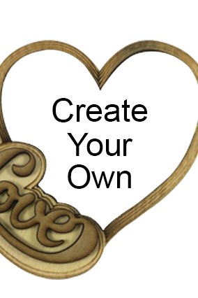 Create Your Own Personalized Heart Fridge Magnet