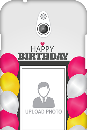 Transparent Silicon - Birthday Greetings InFocus M2 Mobile Cover