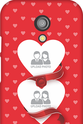 Moto G 2nd Gen Love & Heart Anniversary Mobile Cover