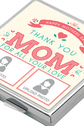Thank You Mother's Day Square Mirror