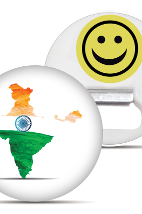 India Map Magnet
