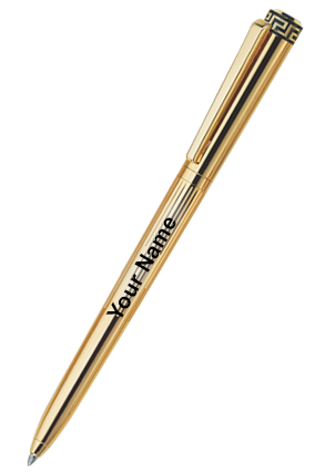 Pierre Cardin Majesty Bright Gold Exclusive Ball Pen Golden