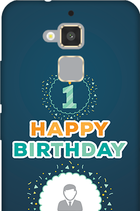 Asus Zenfone 3 Max Birthday Wishes Mobile Cover