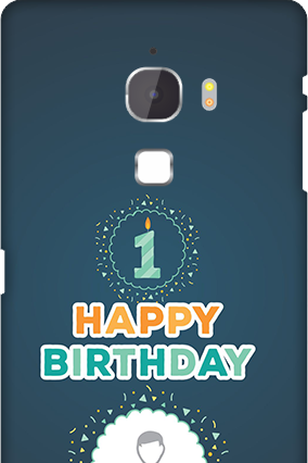 Letv Le Max Birthday Wishes Mobile Cover