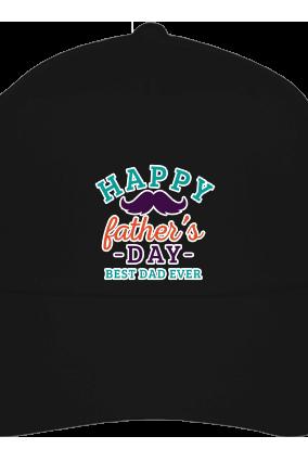 Best Dad Ever Black Cap