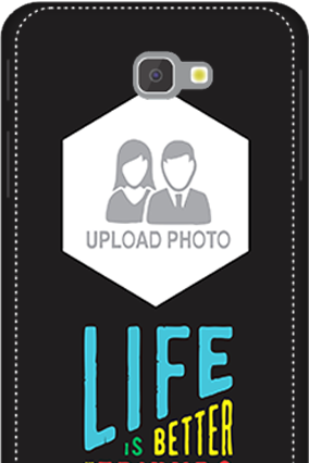 3D - Samsung Galaxy J7 Prime Personalised Life With Friends Mobile Cover