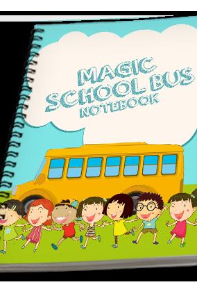 Effit Magic School Bus Notebook
