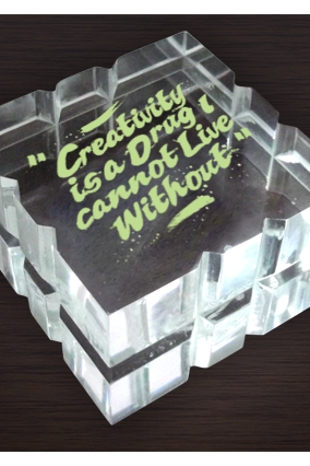 Creativity Paperweight