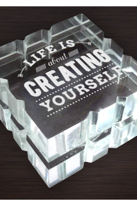 Create Yourself Paperweight
