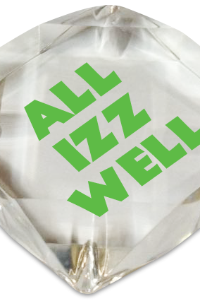 All Izz Well Paperweight