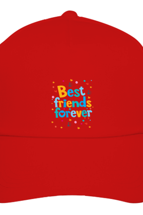 Best Friends Red Cap
