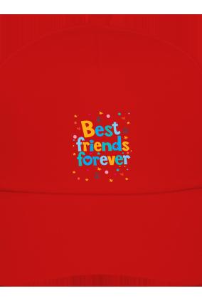 Best Friends Red Cap