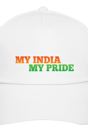 My Pride Indian White Cap