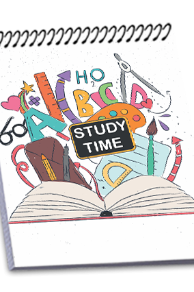 Customize Effit Study Time Notebook