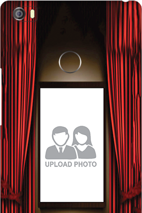 Curtain Xiaomi Mi Max Mobile Cover