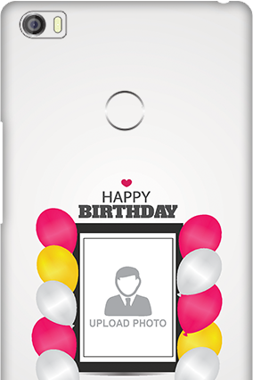 Xiaomi Mi Max Birthday Greetings Mobile Cover