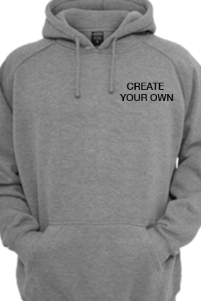 Create Your Own Gray Hoodie