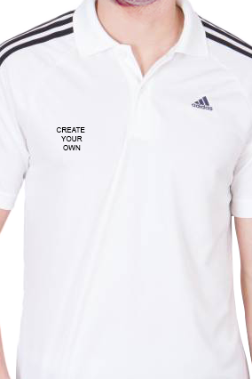 32f25f63e210 ... Adidas - Create Your Own White T-Shirt With Black Stripe · Customize Now