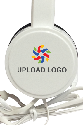 Upload Logo Headphone