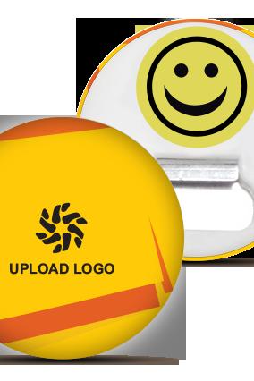 Yellow Logo Magnet