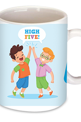 High Five Friendship Day Mug