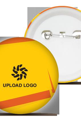 Yellow Logo Badge