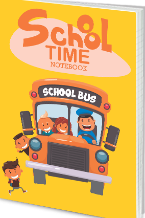 Effit School Time Notebook