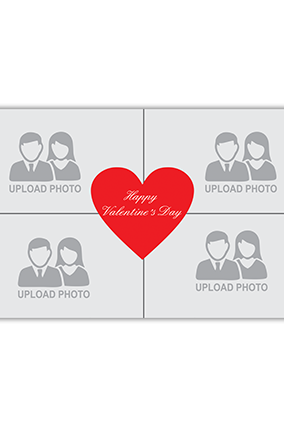 Happy Valentine's Day Canvas Printing