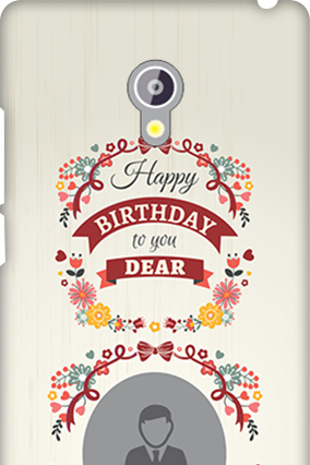 Asus Zenfone 6 Happy Birthday Dear Mobile Cover