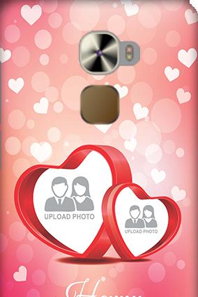 LeTV Le Pro 3 Floral Hearts Anniversary Mobile Cover