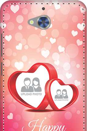 3D - Gionee S6 Pro Floral Hearts Anniversary Mobile Cover