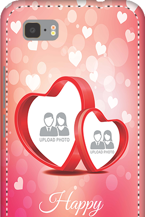 3D -  Asus ZenFone 3S Max  Floral Hearts Anniversary Mobile Cover