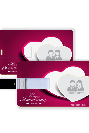 Anniversary Fun Credit Card Pen Drive