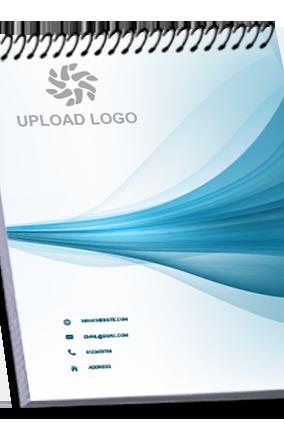 Custom Design Top Spiral Business Notebook