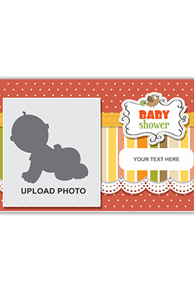Customised Baby Welcome Canvas Print