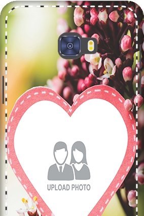 3D -  Samsung Galaxy C7 Pro Floral Mobile Cover
