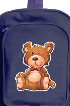 Happy Bear School Bag