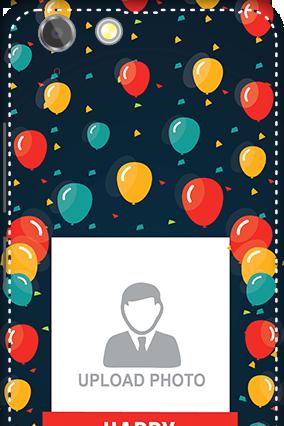 3D - Lenovo Vibe K5 Plus Balloons Birthday Mobile Cover