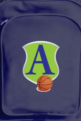 Basketball Craze School Bag