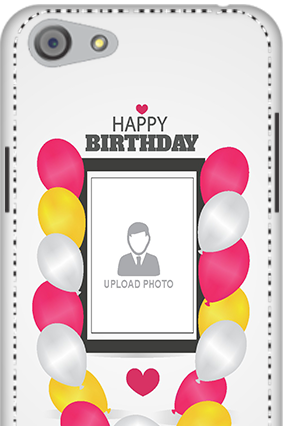 3D - Oppo A33  Birthday Greetings Mobile Cover